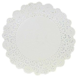 6 White Grease Proof Doilies Shop Hobby Lobby Paper Lace