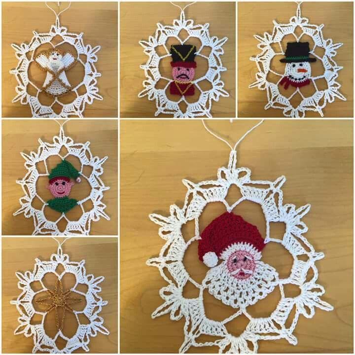 Pin von Stacy Cashio auf Crochet-Christmas | Pinterest