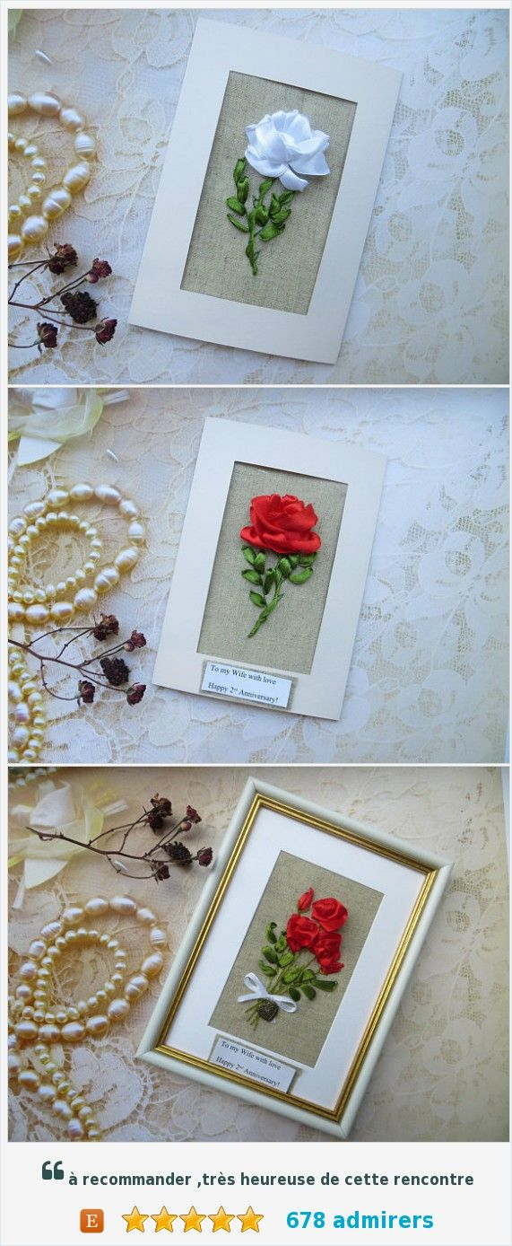 13th anniversary card for men wife Lace anniversary gift