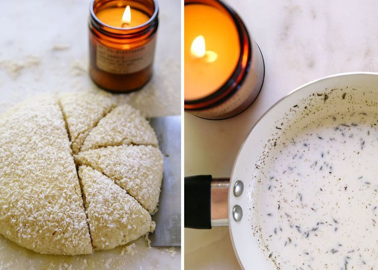 SCENT-INSPIRED RECIPES: COCONUT LAVENDER SCONES BY KENDRA ARONSON -