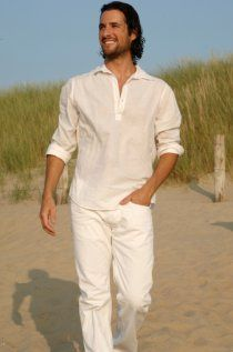 Men Wearing Any White Shirt Khaki Pants Description From Pinterest
