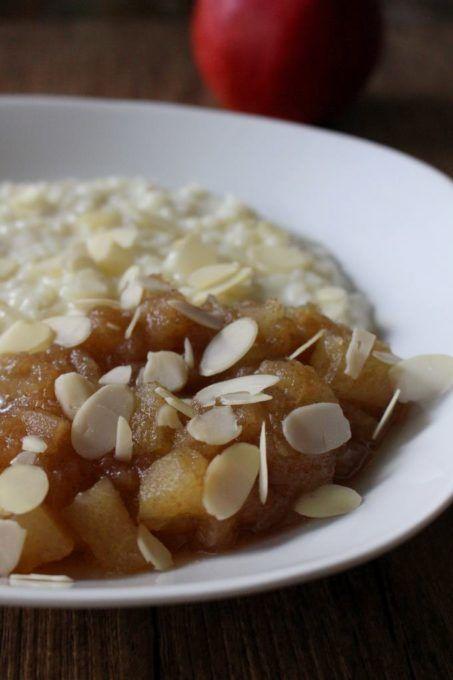 Milchreis mit Bratapfel-Kompott Rezept zum Selbermachen - Familienrezepte zum Nachkochen.