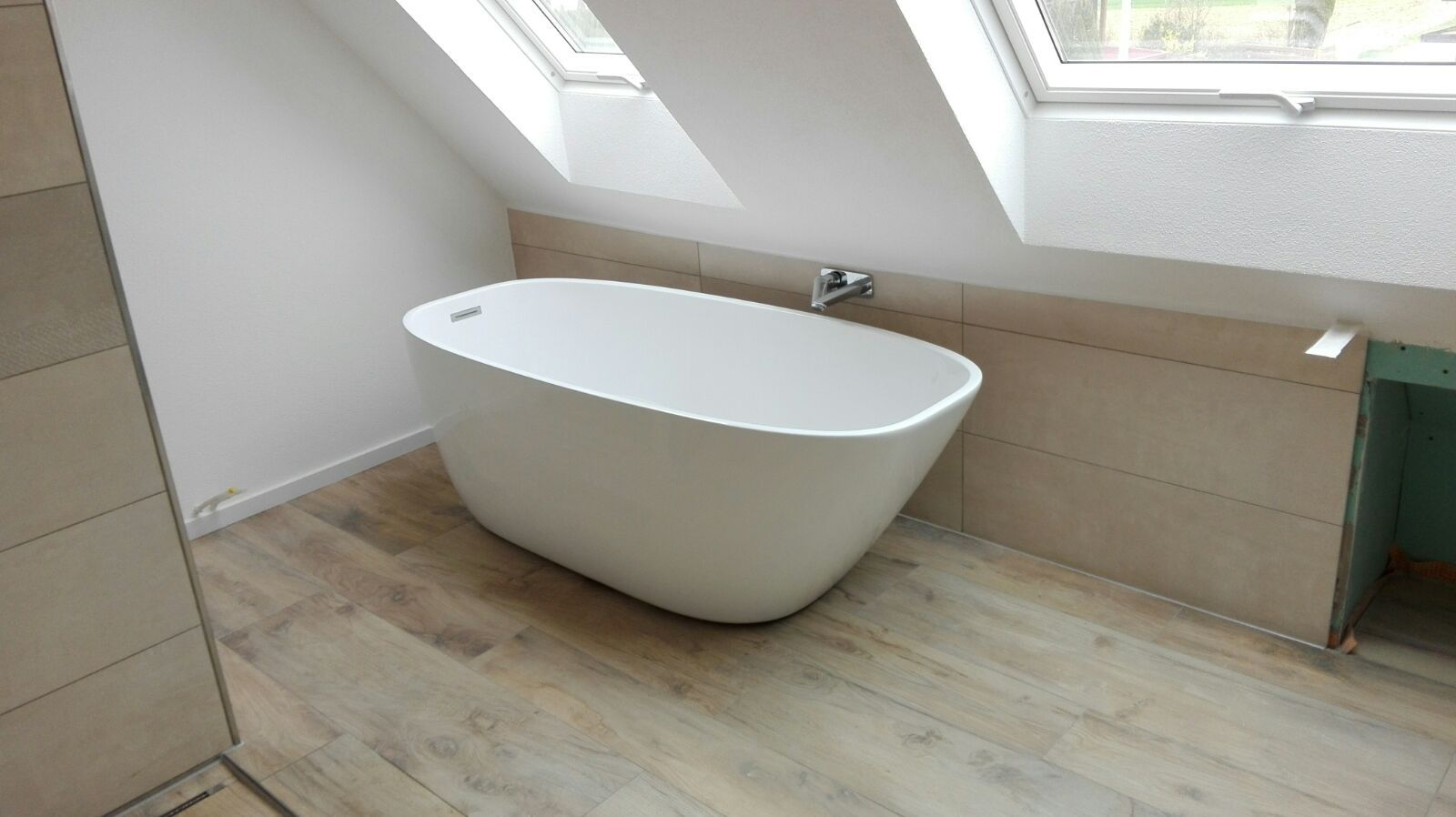 Bathroom Idea Attic Room Small Space Badezimmer Idee Dachschrage