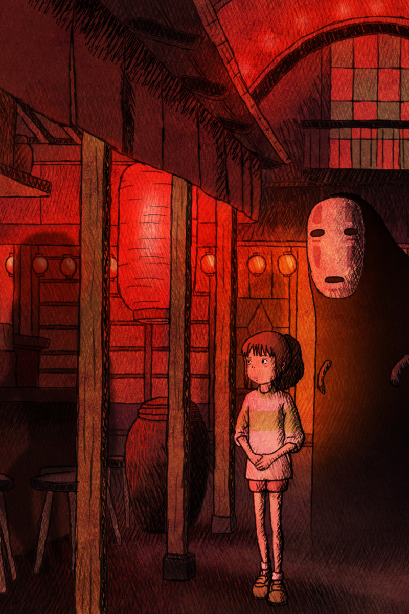 Spirited Away By Ficklestix Studio Ghibli Fanart Ghibli Artwork Studio Ghibli Spirited Away