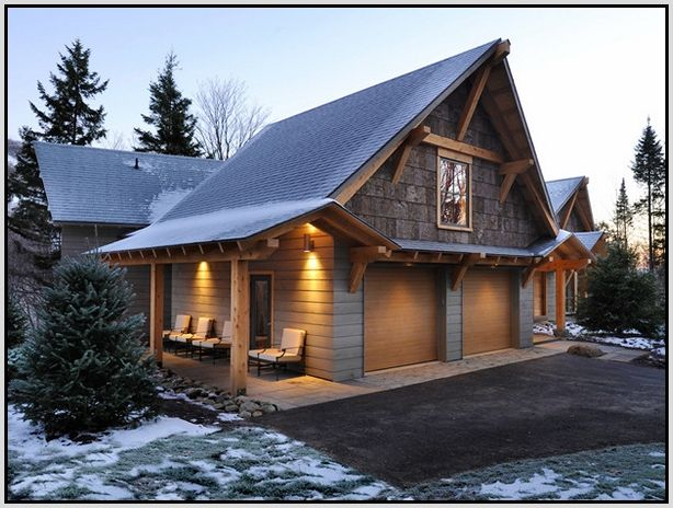 Charming Exterior Garage Ideas Photos - Best idea home design .