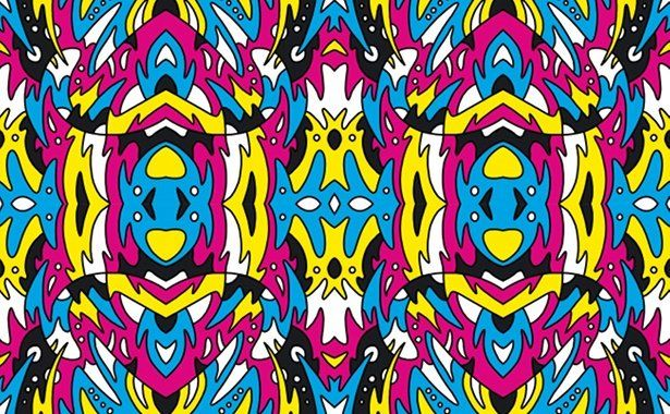 Create A Hypnotic Repeat Pattern Repeating Patterns Abstract