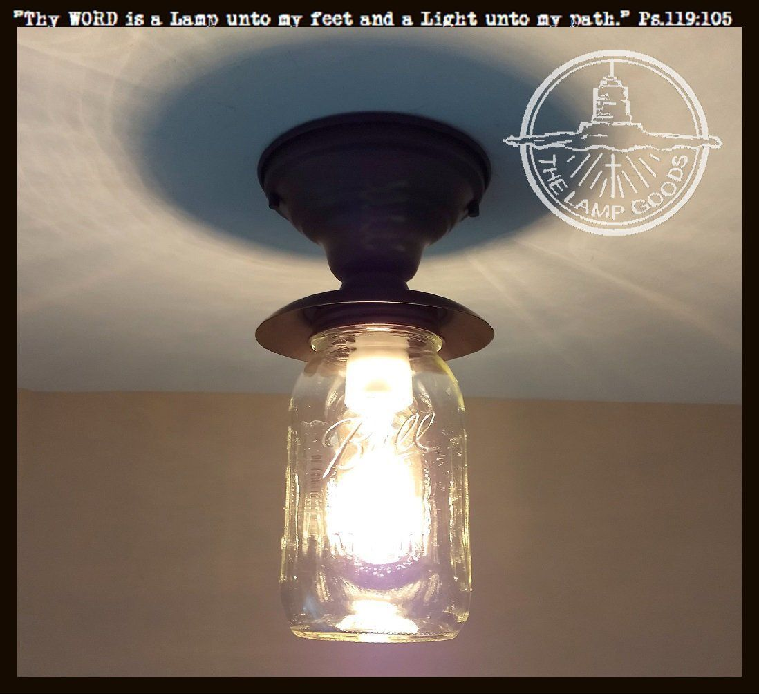Mason jar exterior porch farmhouse ceiling light fixture ceiling mason jar exterior porch farmhouse ceiling light fixture arubaitofo Images