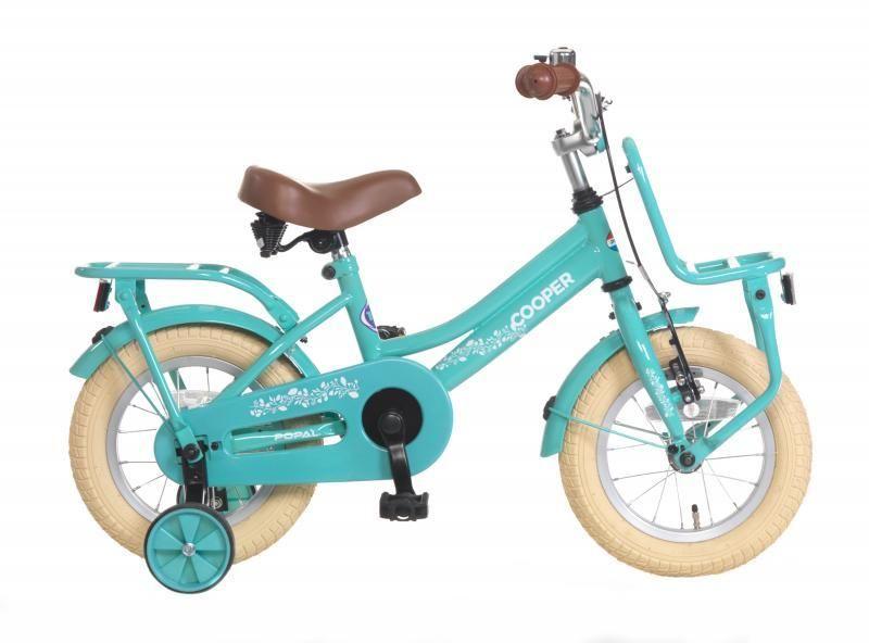 popal cooper kinderrad 14 zoll kinder fahrrad t rkis. Black Bedroom Furniture Sets. Home Design Ideas