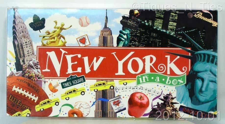 New York In A Box Monopoly Board Game LANDMARK EDITION