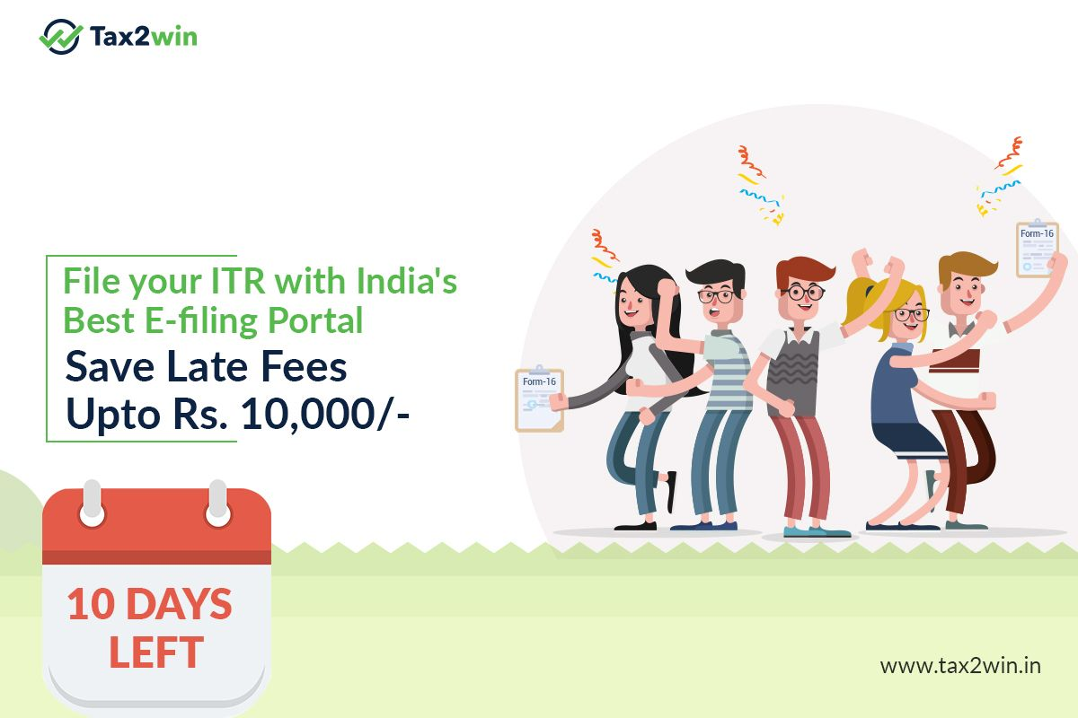 Free Free Free File Your Itr With India S Best E Filing