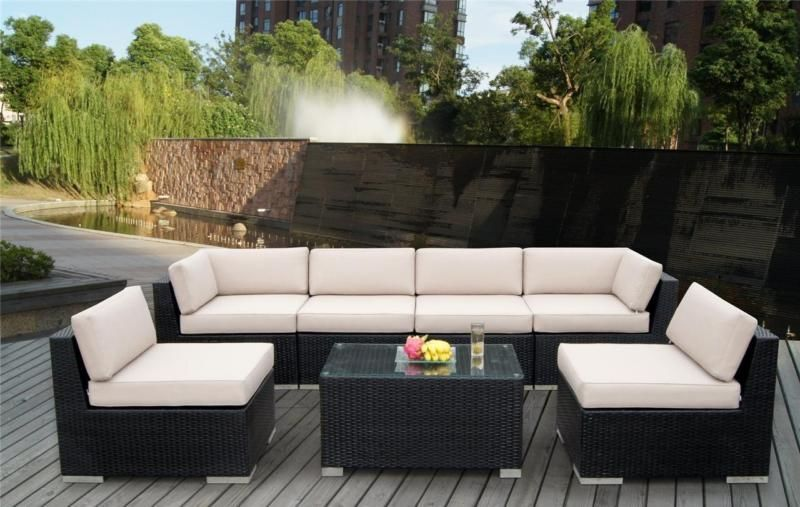 great price close to home for pickup noosha new outdoor pe rattan wicker sofa lounge set from. Black Bedroom Furniture Sets. Home Design Ideas