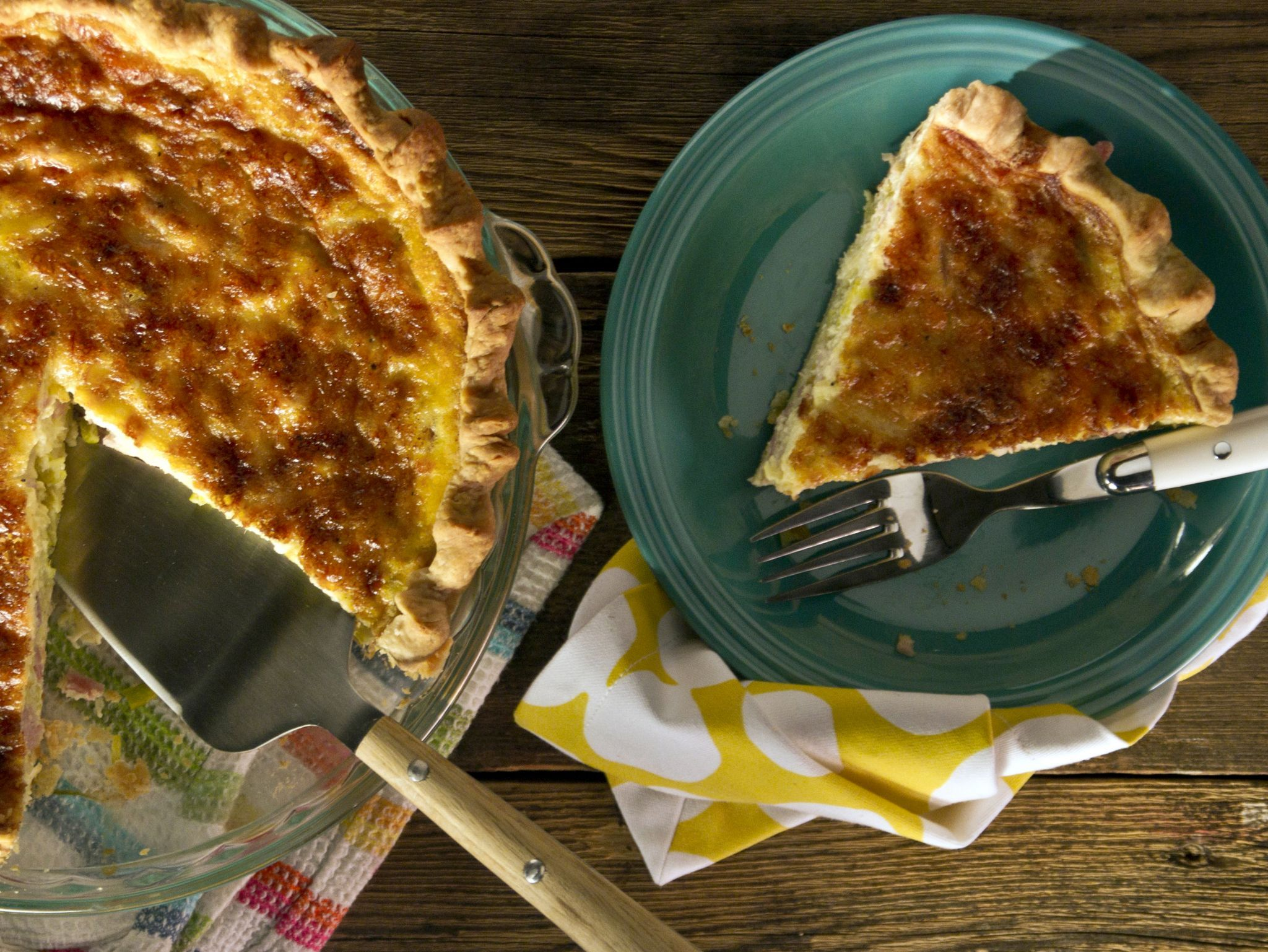 Ham leek and gruyere quiche recipe quiche recipes quiche and hams forumfinder Choice Image