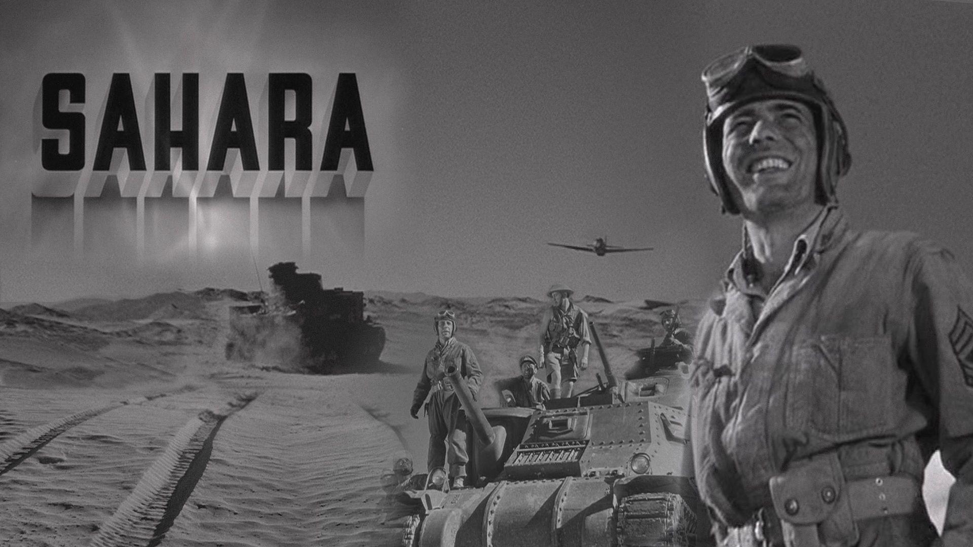 War Movie : Sahara - 1943