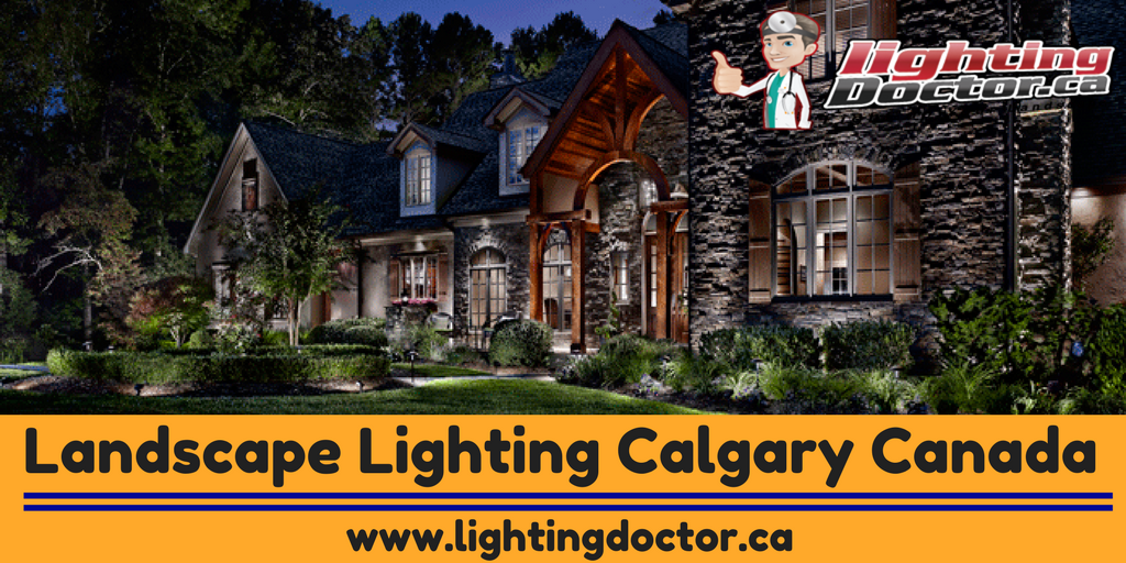 Lighting can make all the difference to your outdoors. You must have noticed the dramatic effects that light can add to your interiors, the same is true for the exteriors of your home too. Landscape lighting ideas can be a real mood creator. #LandscapeLightingCalgaryCanada #LightingDoctor #CanadaLightingProducts #Calgary #Alberta #Canada  www.lightingdoctor.ca