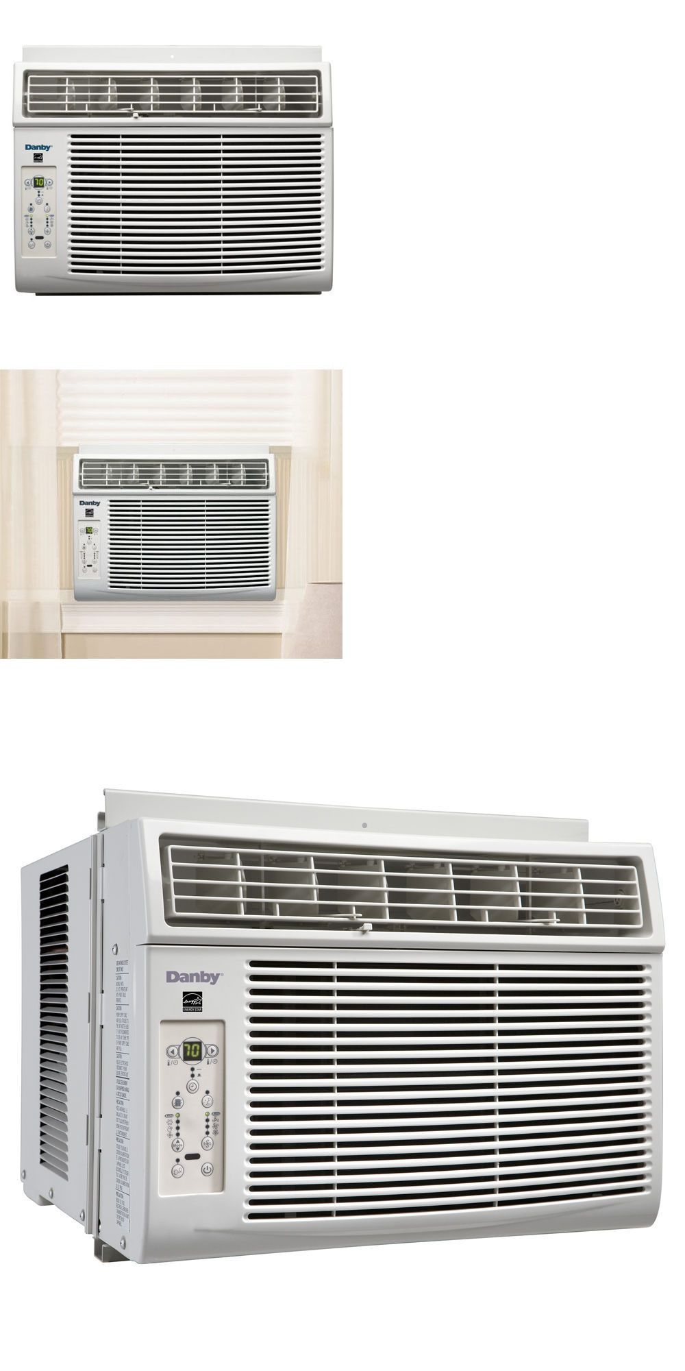 Central Air Conditioners 185108 8000btu Window Air Conditioner Cools Up To 350 Sqft W Led Dis With Images Window Air Conditioner Air Conditioner Central Air Conditioners