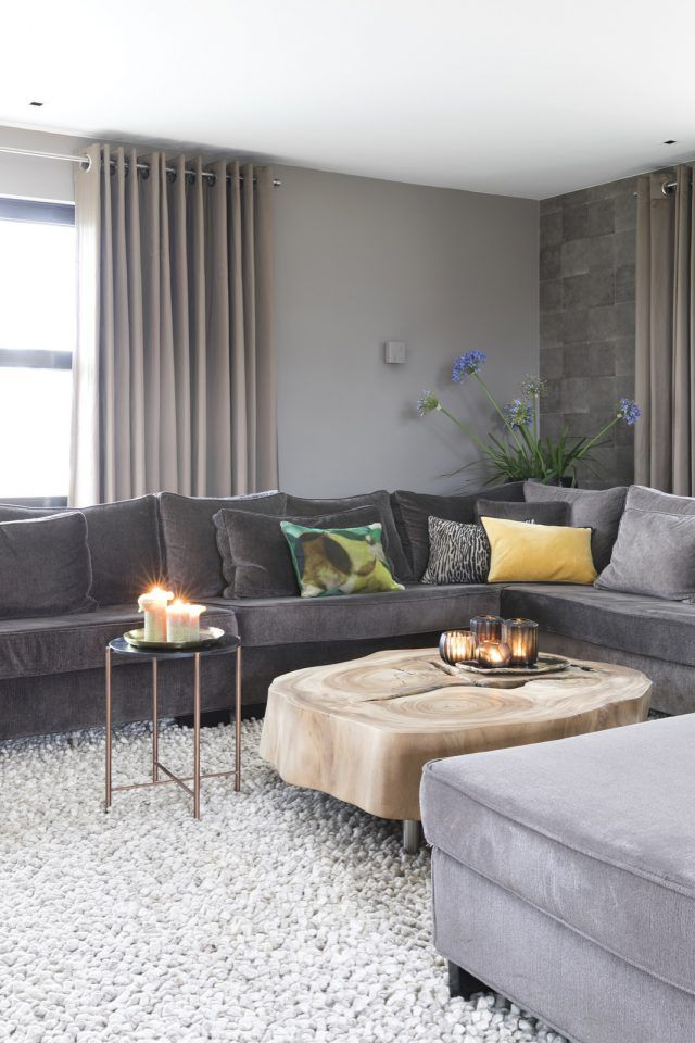 moderne loungebank | woonkamer ideeën | living room decor ideas ...