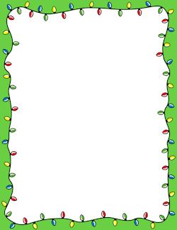 Christmas Lights Border Free Christmas Borders Clip Art Borders Christmas Boarders