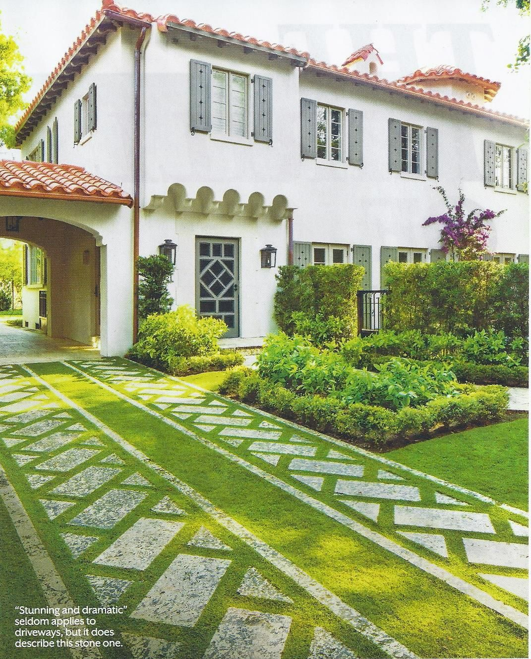 Magnificent Miami Garden | Southern living magazine, Coral gables ...