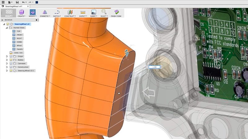 Learn Fusion 360 in 60 Minutes | 3D CAD/CAM Modeling Tutorials
