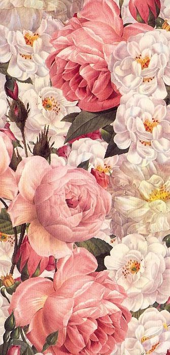 Floral paper from Italy for Christmas crafting