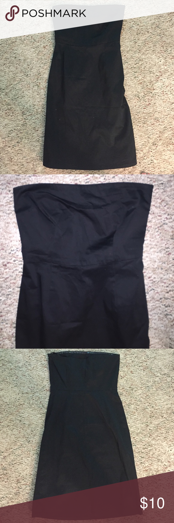 Black dress Mid length black dress that can be used for any causal -nice occasion Old Navy Dresses Strapless