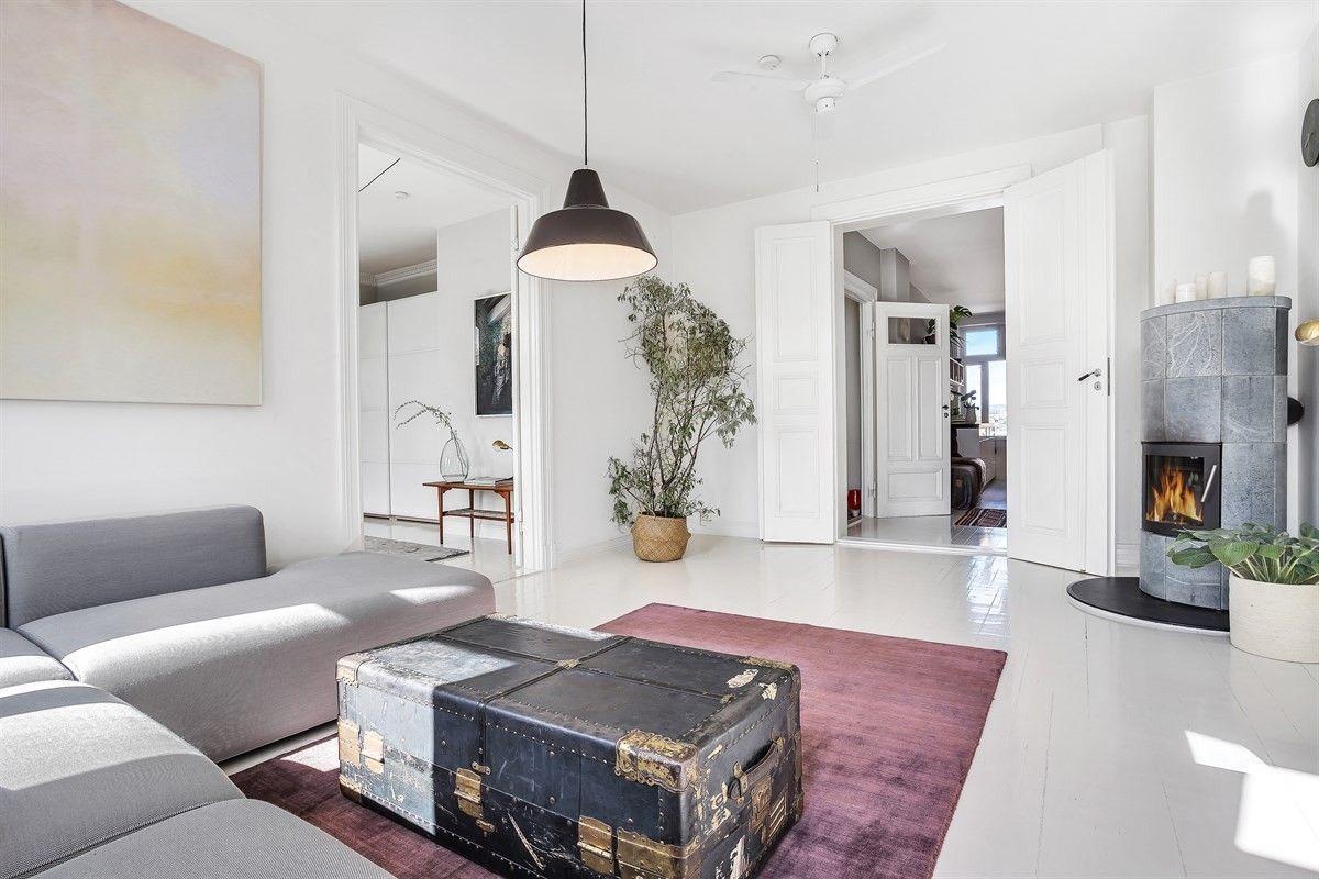 Minimalistisch mooie woonkamer uit oslo woonkamer pinterest