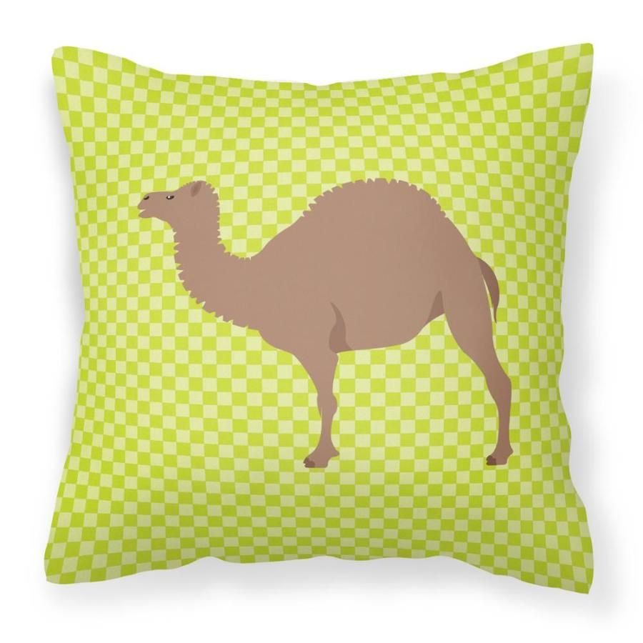 Caroline's Treasures Graphic Print Multicolor Square Animals Throw Pillow