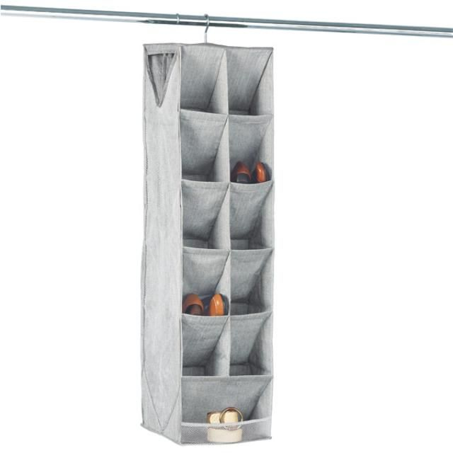 How To Use Hanging Shoe Racks Diy Shoe Storage Diy Closet Storage Shoe Rack Closet