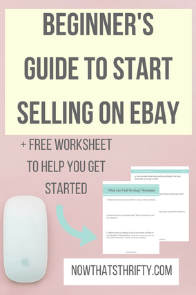 Beginner S Guide To Start Selling On Ebay Ebay Selling Tips Things To Sell Making Money On Ebay