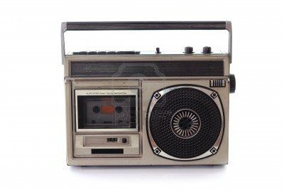 The radio was so important. We were listening attentively for THAT song to come back, so we could record it on tape.