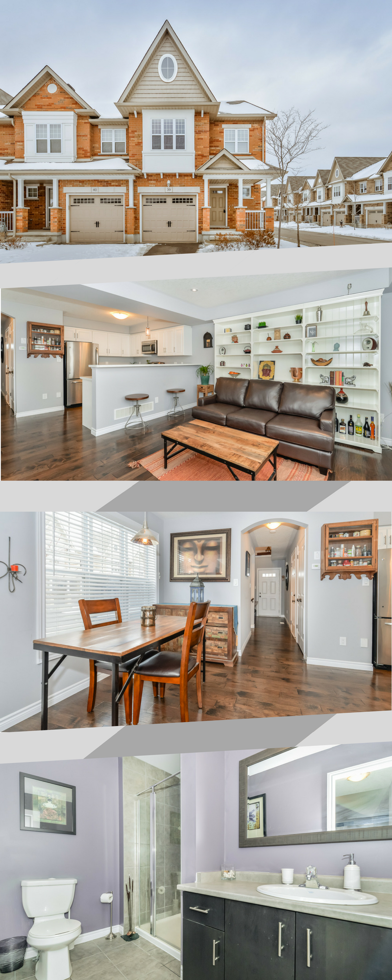 OPEN HOUSE! Truly impressive END UNIT located in sought