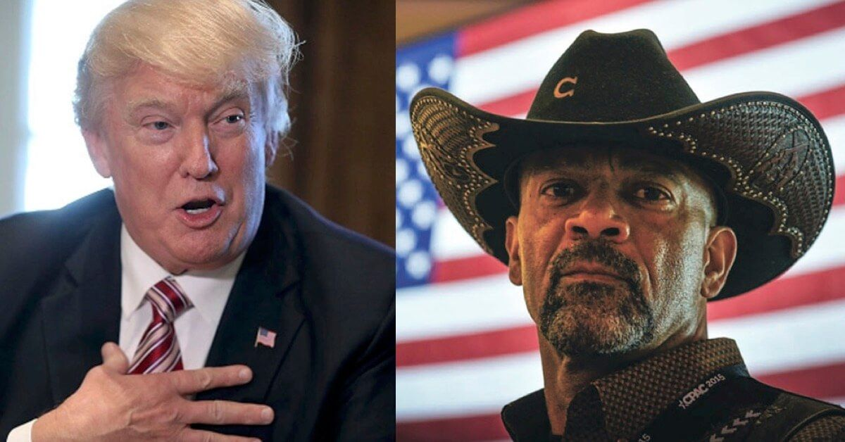 Developing Trump Wh Eyeing Sheriff Clarke For Job In
