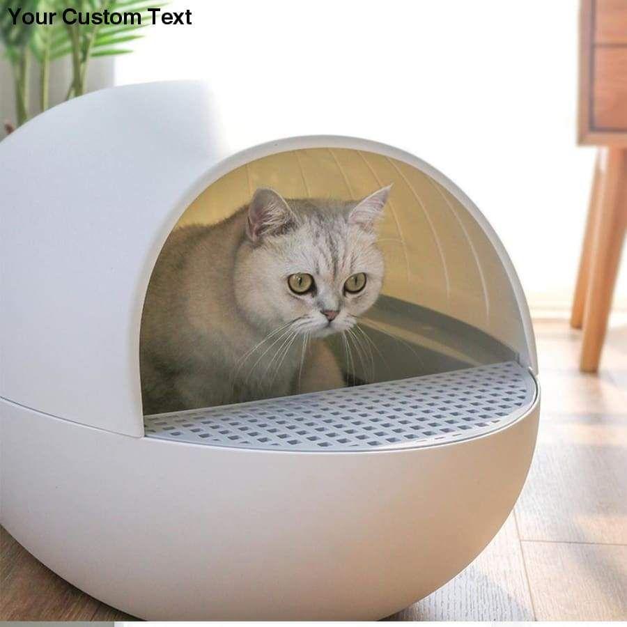 Smart Cat Sandbox Gravity Automatic Sensor Pet Litter Box Deodorant Splash Proof Intelligent Self In 2020 Dog Toilet Litter Tray Litter Box
