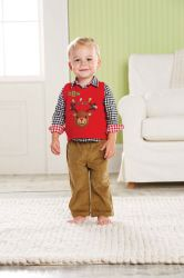 This reindeer outfit is beyond precious!  2-3T