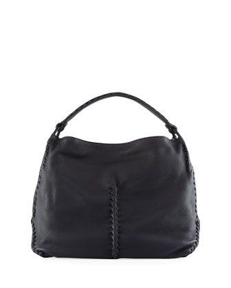 3a3ae62c9668f7 Medium Deerskin Leather Hobo Bag by Bottega Veneta at Neiman Marcus ...
