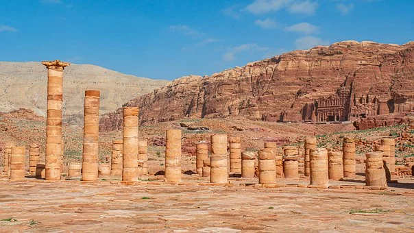 Free Image On Pixabay Petra King Wall Jordan Cool Places To Visit Travel Around The World World Heritage Sites