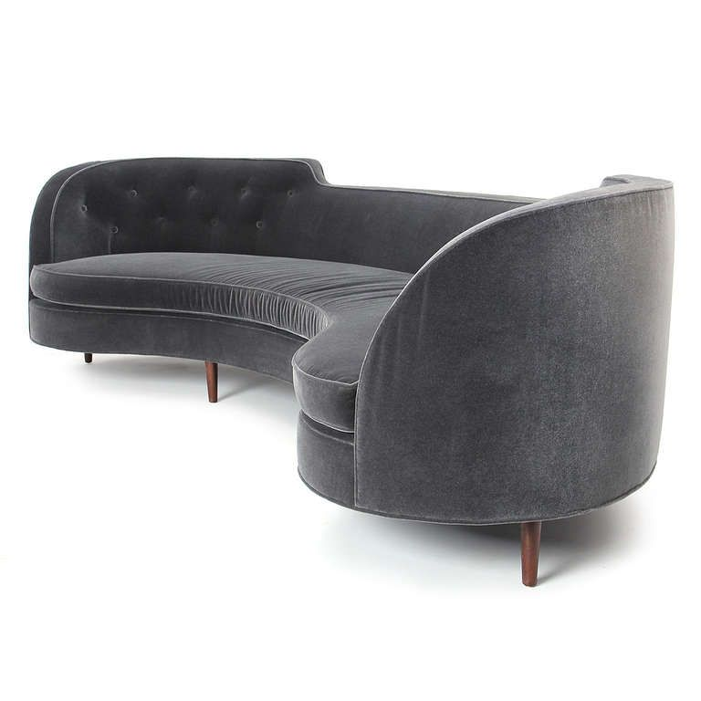 Oasis Sofa by Edward Wormley   Pinterest   Edward wormley  Oasis and     Oasis Sofa by Edward Wormley   From a unique collection of antique and modern  sofas at http   www 1stdibs com furniture seating sofas