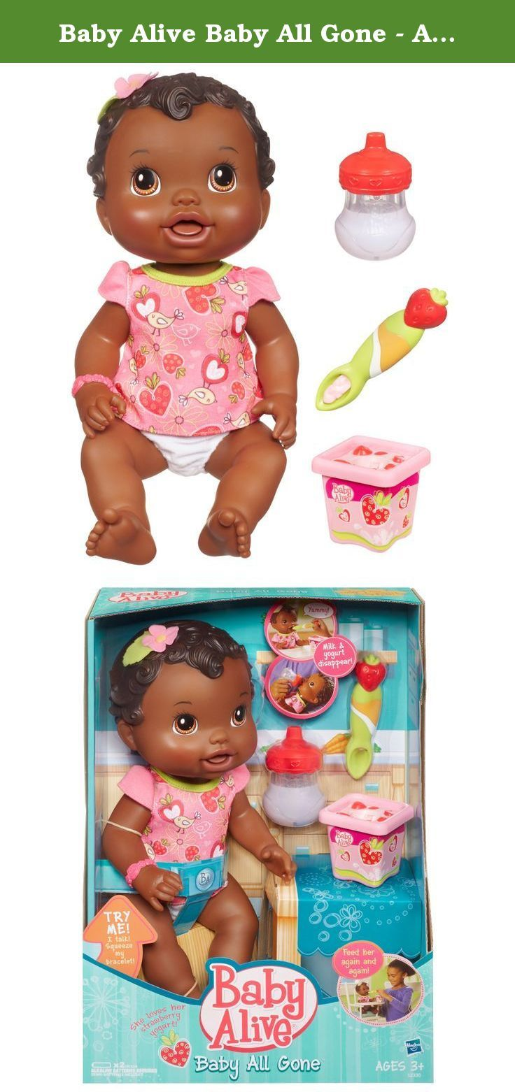 Baby Alive My Baby All Gone African-American Doll