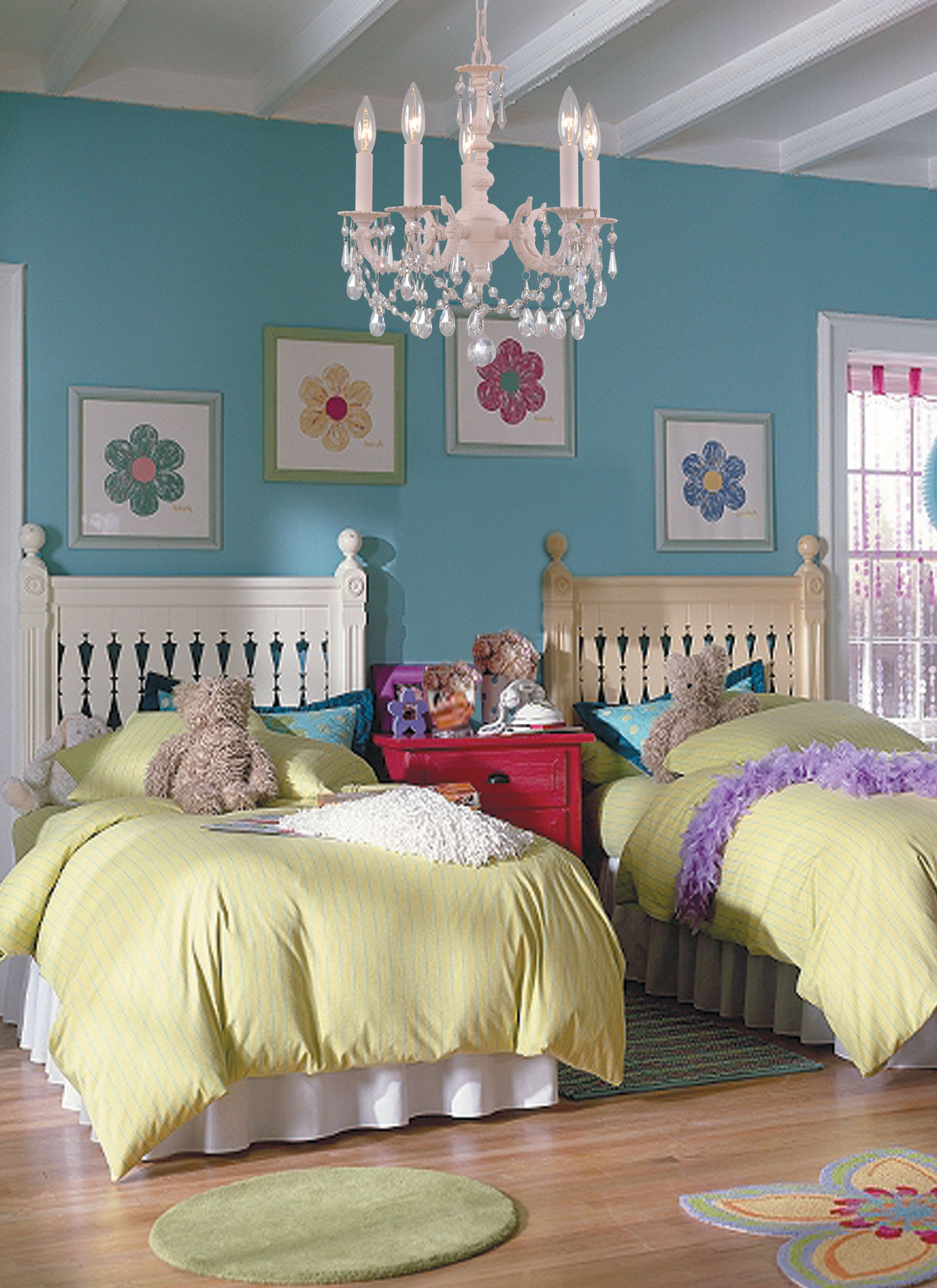a dream room for a little princess with modern bright