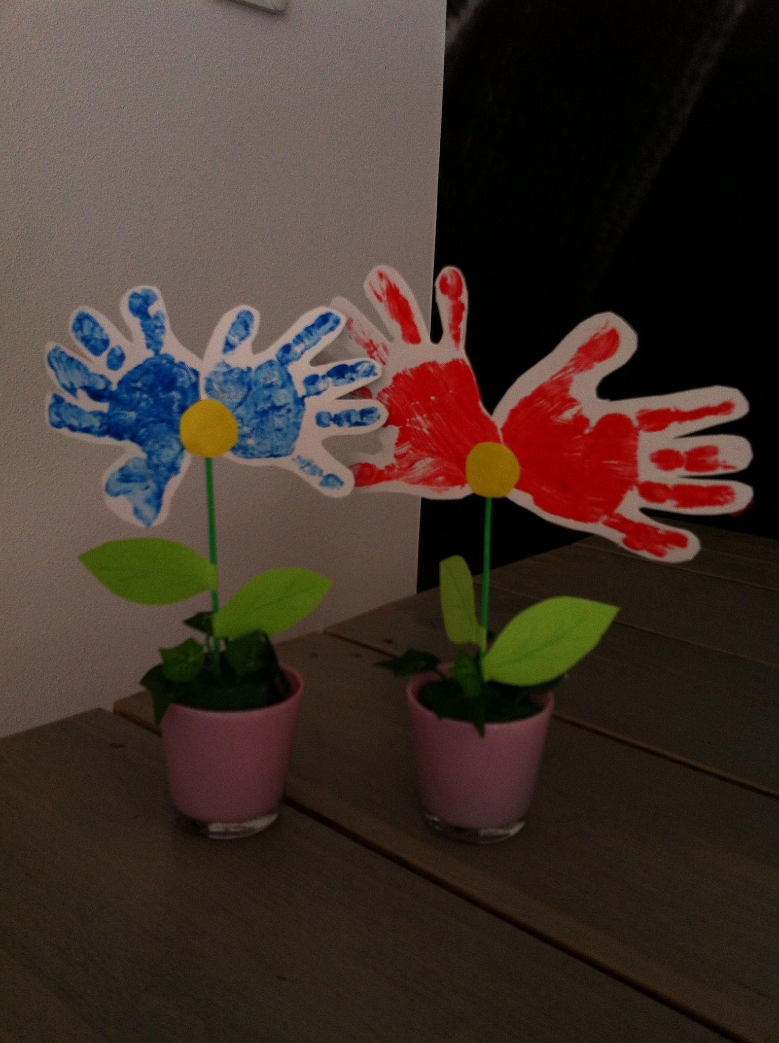 Hedendaags Knutselen met kids voor moeder/ vaderdag | Knutselen met peuters YJ-66