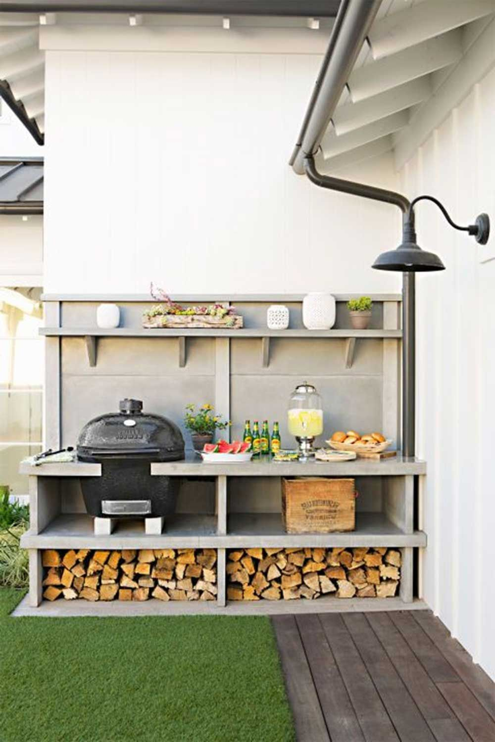 15 fantastic outdoor kitchens ideas on a budget outdoor kitchen kitchen remodel design on outdoor kitchen ideas on a budget id=51183