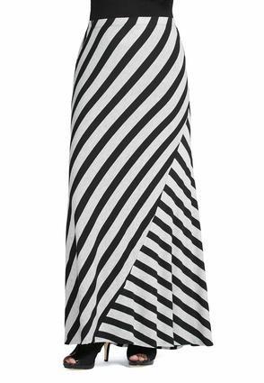 ef865ddf454 Cato Fashions Stripe Maxi Skirt - Plus  CatoFashions