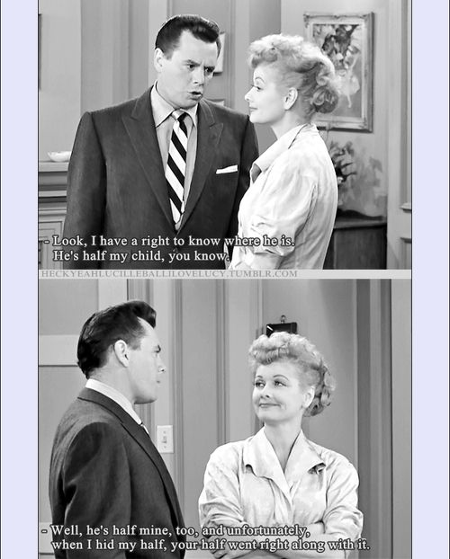 Lucille Ball Desi Arnaz I Love Lucy Nursery School Season 5 Is Trying To Keep Ricky From Sending Little