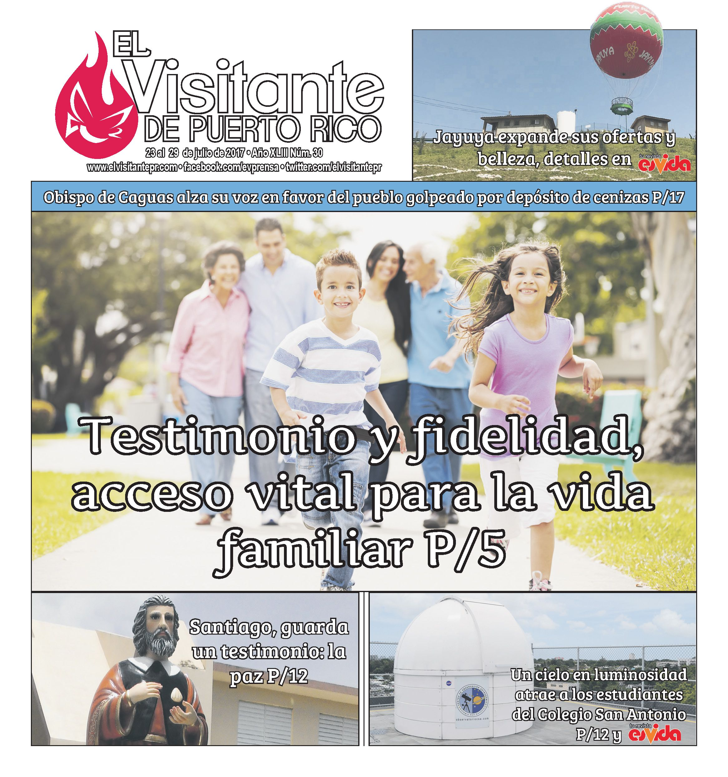 Portada 30 (23 al 29 de julio) Prensa Católica Movie