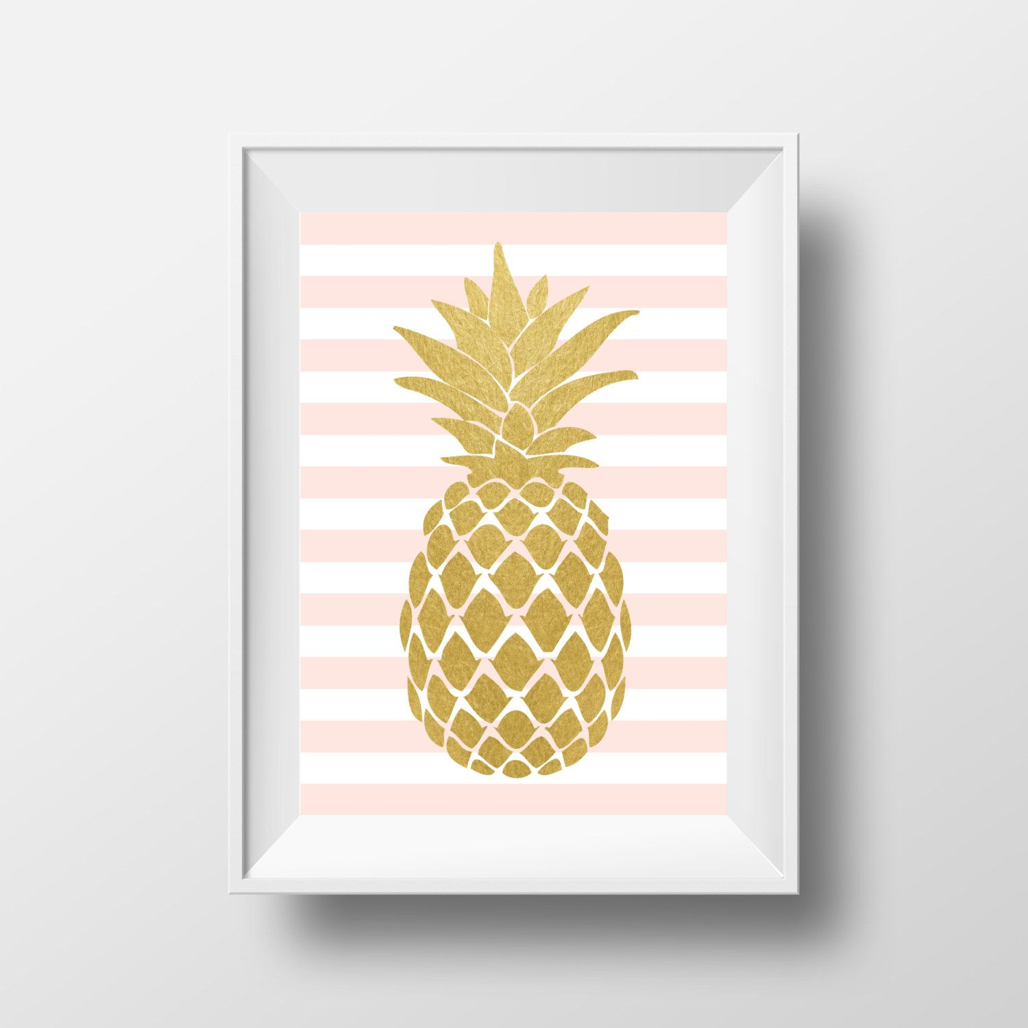 I Really Like This Gold Pineapple Decor Pineapple Wall Art
