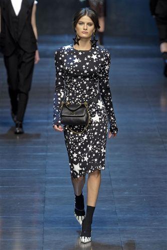 The Dolce & Gabbana star print again ZZZZzzzzz!!!... (via @kennymilano )