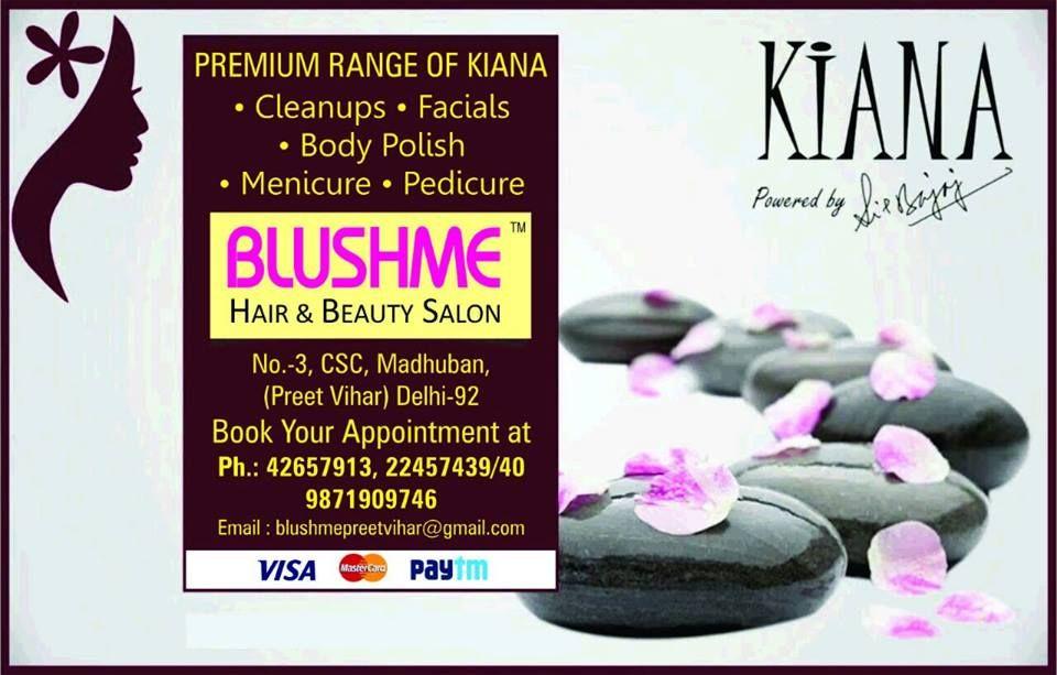 Pin on blushme hair & beauty salon