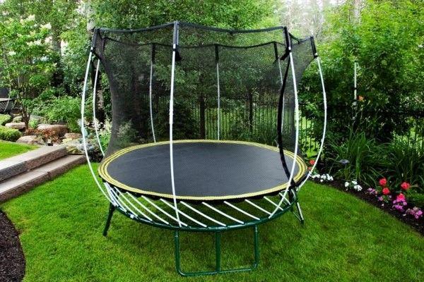 Bon Garden Trampoline Foundation Warentest U2013 How Safe Is Your ... Backyard  TrampolineBest ...