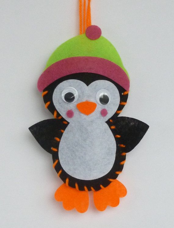 Instant Download Penguin bean bag sewing pattern Kids craft Size - penguin template