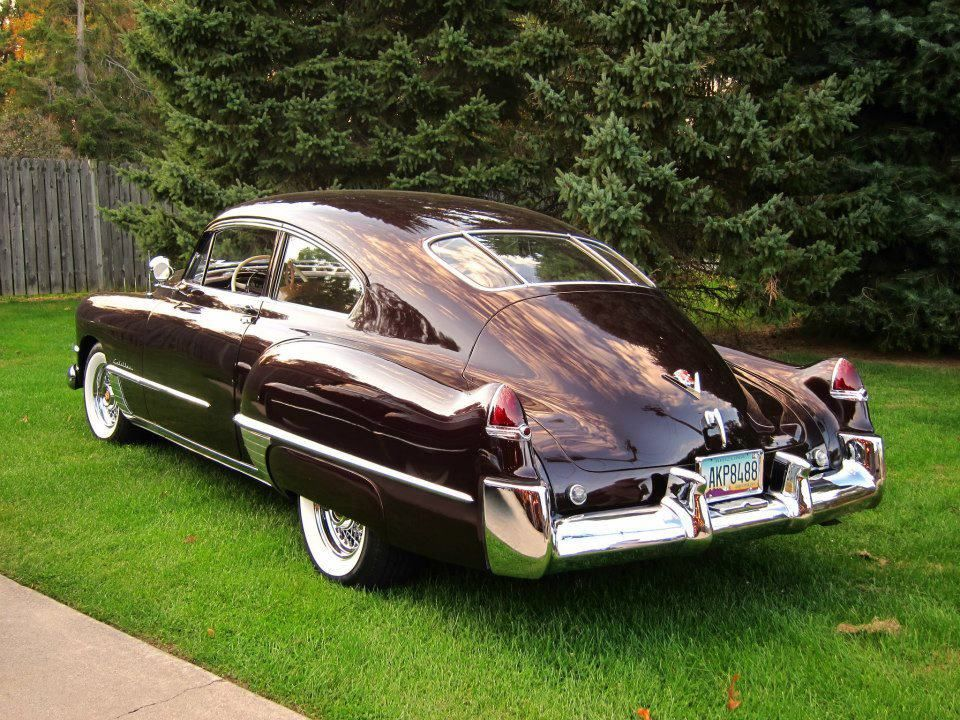 1948 Cadillac Series 61 Sedanet Fastback Coupe Is This